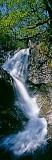 eas chia-aig, waterfall, double, falls, spring, foliage, lochaber, scotland, vertical