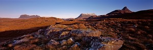 assynt, scotland, inverpolly, mountains, suilven, canisp, cul mor, stac polly, nature reserve