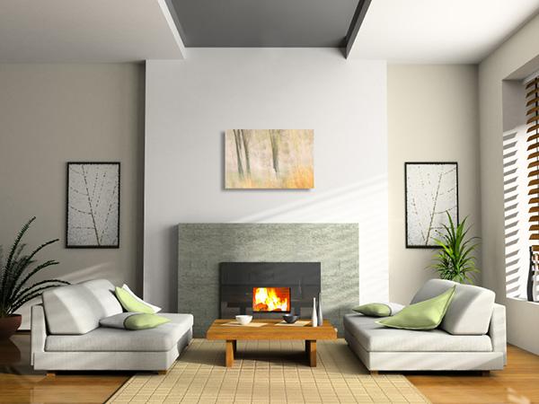 lounge, acrylic, print, room, photo