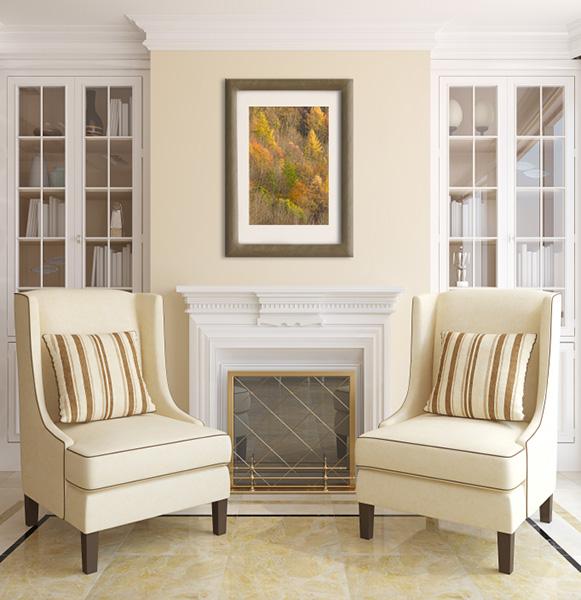 Living Room Framed Print Artwork Photo