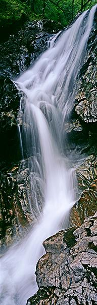 eas chia-aig, waterfall, zig zag, Rob Roy, lochaber, scotland, photo